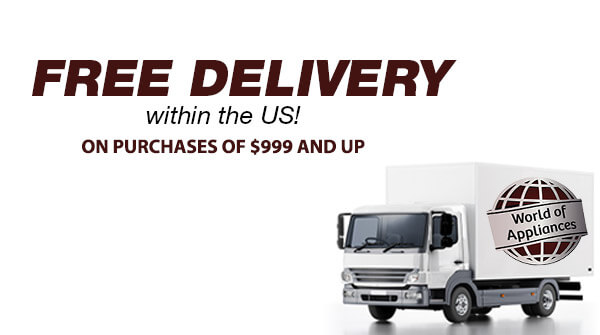 Free Delivery within the tri state area on purchases $499 and up